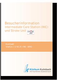 Besucherinformation Intermediate Care Station (IMC) und Stroke Unit
