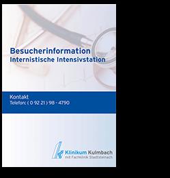 Besucherinformation Internistische Intensivstation