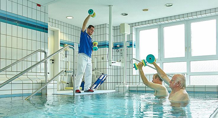Physiotherapie Fachklinik Stadtsteinach
