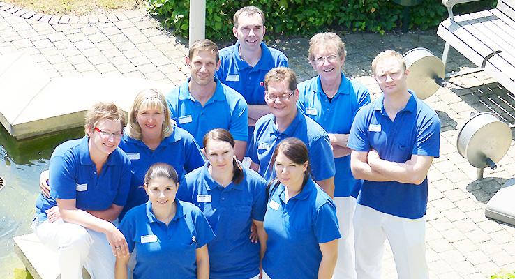 Team Physiotherapie Fachklinik Stadtsteinach