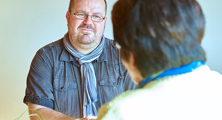 Seelsorger Christian Schmidt