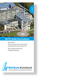 Info-Flyer Medizinstudium und Stipendium