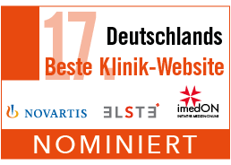 Nominierung Deutschlands Beste Klinik-Website