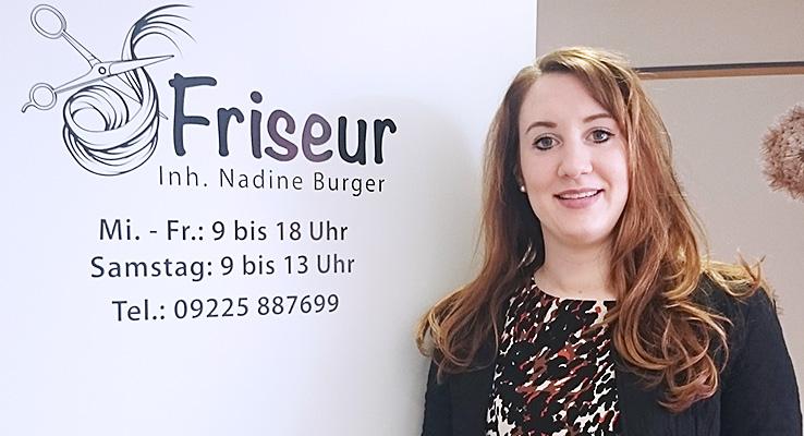 Friseur in der Fachklinik Stadtsteinach - Nadine Burger