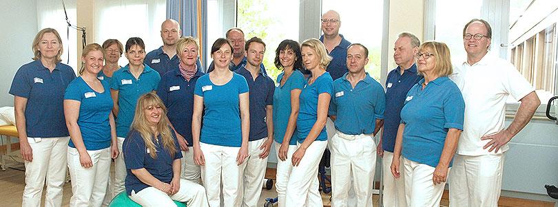 Team Physiotherapie Klinikum Kulmbach