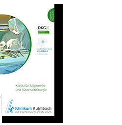 Informationsflyer Allgemein- und Visceralchirurgie