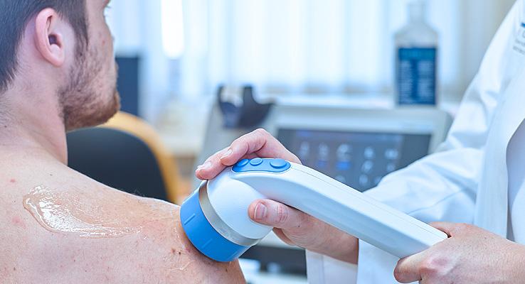 Radiale Stoßwellentherapie