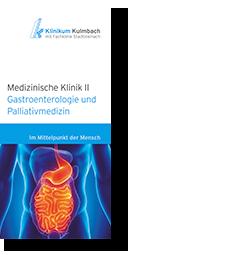 Informationsflyer Gastroenterologie und Palliativmedizin