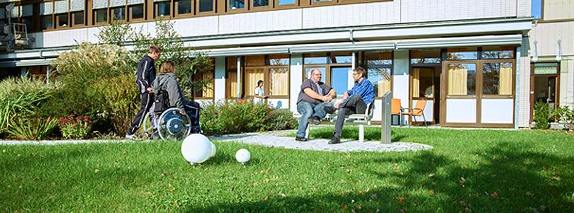 Patientengarten Palliativstation