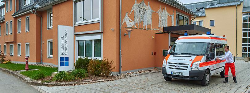 Gebäude Fachklinik Stadtsteinach