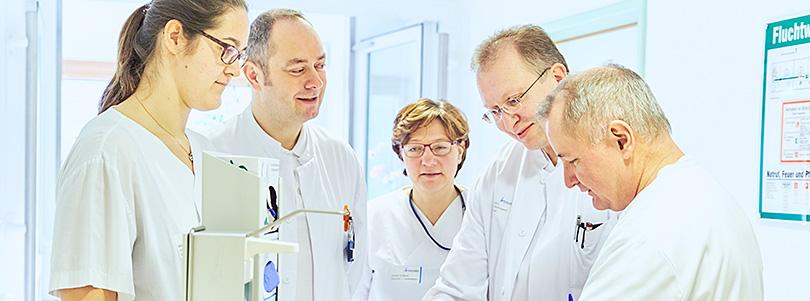 Team der Gefäßchirurgie