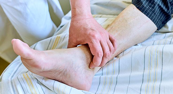 Untersuchung Bein Gefäßchirurgie