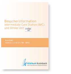 Besucherinformation Intermediate Care Station (IMC) und Stroke Unit