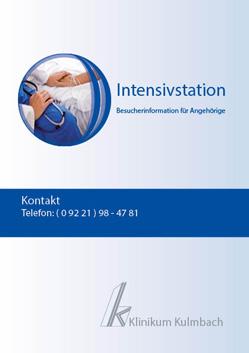 Besucherinformation Intensivstation