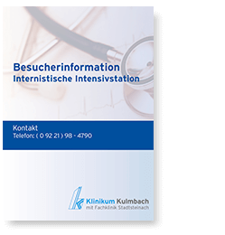 Besucherinformation Internistische Intensivstation