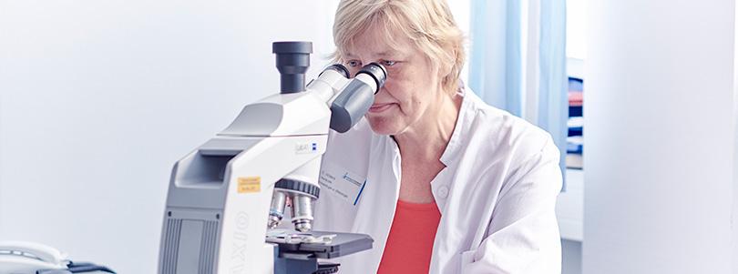 Onkologie Mikroskop Dorothee Ahlers