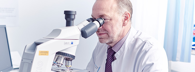 Onkologie Mikroskop Dr. med. Harald Biersack