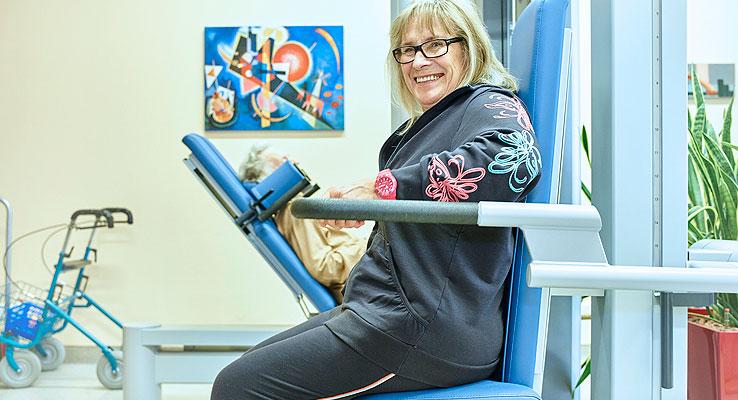 Orthopädische Rehabilitation - Krafttraining