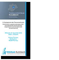 Ärztliche Fortbildungsveranstaltung: Symposium Thoraxzentrum